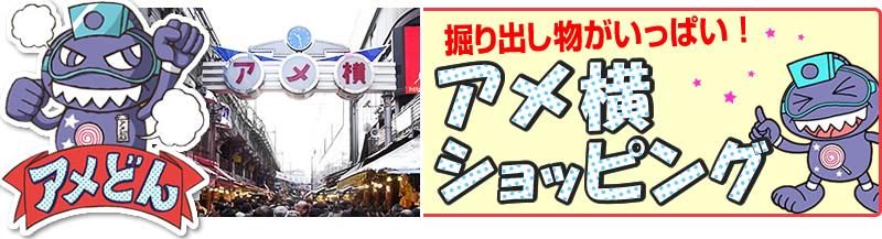 上野アメ横のお店情報